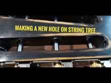 Embedded thumbnail for Making a new hole on string tree - Acoustic guitar