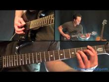 Embedded thumbnail for Metallica - One Guitar lesson 2